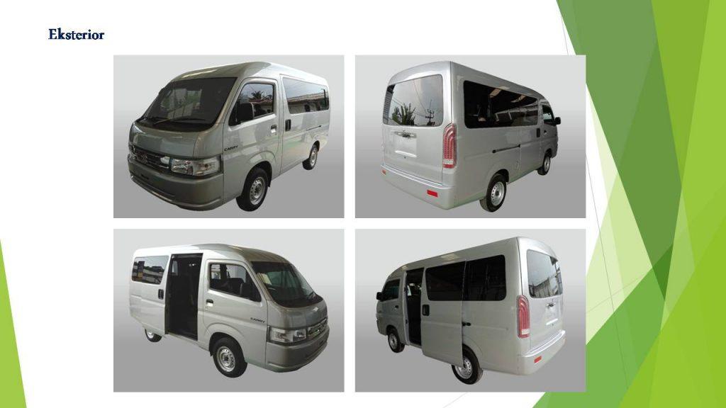 Exterior Suzuki New Carry Minibus