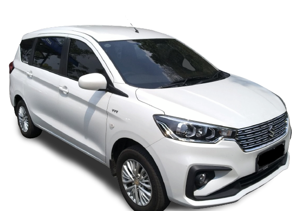 Harga Suzuki Ertiga gL Manual putih 230 juta
