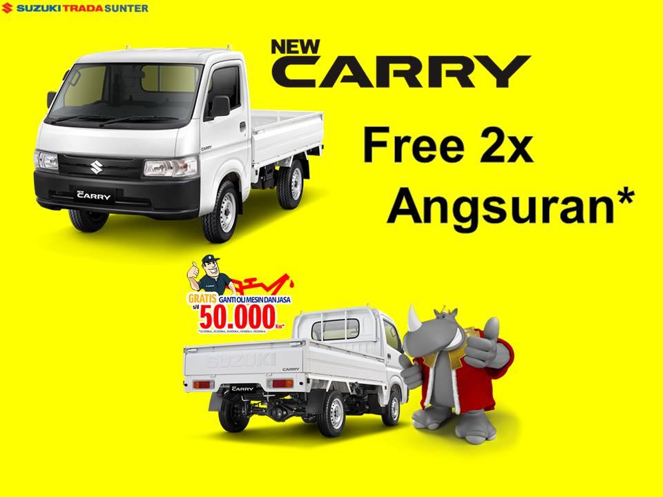 Carry Free 2x Angsuran suzuki mobil sunter dp murah 8 juta angsuran 3 juta an tahun 2021 geovanny
