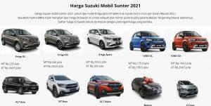 Harga Suzuki Mobil Sunter 2021 www suzuki mobil sunter com