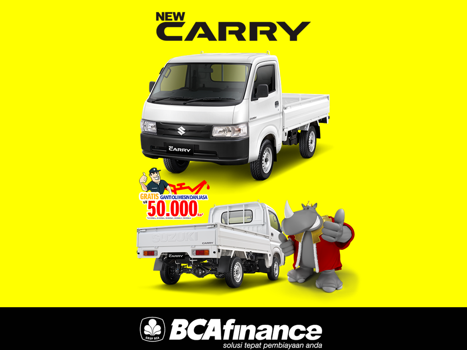 Kredit Suzuki Carry Murah BCA FINANCE 2021 Angsuran 3 Juta An